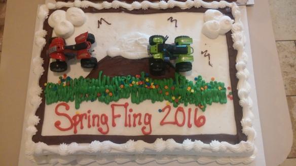 Spring Fling cake photo